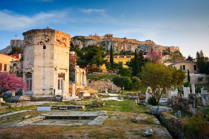 Ruins-of-the-ancient-Athens